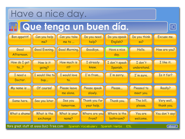 Learn 49 useful Spanish phrases.